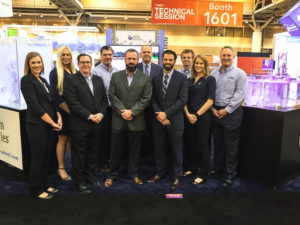 Aeration Industries Team at WEFTEC