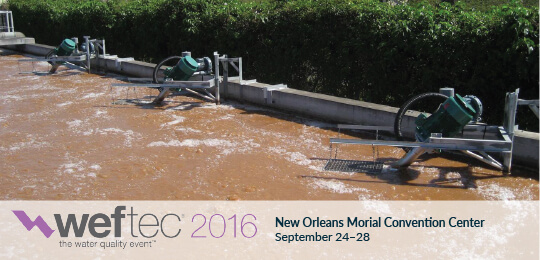 Aeration Industries at WEFTEC 2016